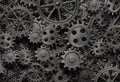 Many Old Rusty Metal Gears Background Stock Photos - 27564673