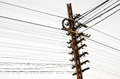 Electricity Post Royalty Free Stock Photos - 27569738