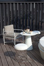 Table And Chairs In Patio Stock Photo - 27583940