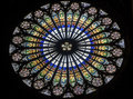 Strasbourg - The Gothic Cathedral, Rose Window Stock Photos - 27590453