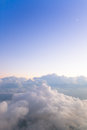 Mountains Of Clouds Royalty Free Stock Images - 27593689