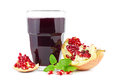 Pomegranate Juice Stock Photo - 27594510