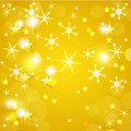 Golden Christmas Background Royalty Free Stock Photography - 27595927