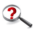 Search Magnifying Questions Stock Images - 27597594