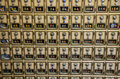 Post Office Combination Lock Boxes Stock Photography - 27599442