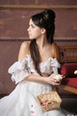 Young Victorian Lady Royalty Free Stock Photo - 27613635
