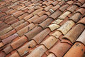 Old Tile Roof Royalty Free Stock Photo - 27614815