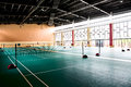 Badminton Hall Stock Images - 27616044