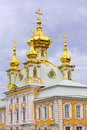 East Chapel Housing The Grand Palace Peterhof. Royalty Free Stock Photos - 27620228