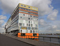 Modern Apartments Building In Amsterdam, Holland Stock Image - 27633151