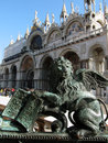 Lion Statue In Venice Stock Images - 27633364