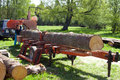 Mobile Sawmill Royalty Free Stock Photo - 27636195