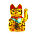 Lucky Chinese Cat Stock Image - 27637011
