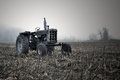 Tractor In Field Royalty Free Stock Images - 27642239