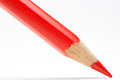 Red Pencil Diagonal Royalty Free Stock Photography - 27646597