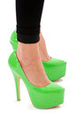 Fashion Sexy High Heel Shoes Royalty Free Stock Image - 27647316