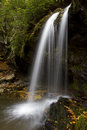 Grotto Falls In Great Smoky Mountains NP Stock Image - 27649561