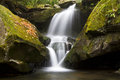 Grotto Falls In Autumn Stock Photography - 27649592