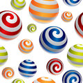 3d Balls Pattern Royalty Free Stock Photography - 27660247