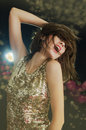 Disco Girl Royalty Free Stock Images - 27666639
