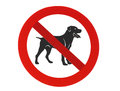 No Dogs Allowed Royalty Free Stock Photos - 27679618