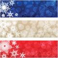 Christmas Banners Royalty Free Stock Photos - 27686938
