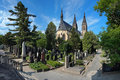 Vysehrad Cemetery In Prague, Czech Republic Stock Photography - 27691982