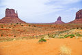 The Unique Landscape Of Monument Valley, Utah, USA Royalty Free Stock Photo - 27705255