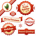 Seasonal Labels, Tags, And Banners For Holidays Royalty Free Stock Images - 27727739