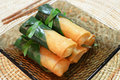 Crispy Chinese Traditional Spring Rolls Food Royalty Free Stock Photography - 27739917