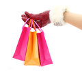 Christmas Shopping Bags Stock Images - 27746554