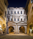 Porta Borsari By Night - Verona Italy Stock Photo - 27748830