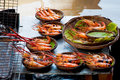 Grilled Shrimp Stock Photo - 27750200