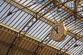 Railway Station With Historic Clock Stock Image - 27760241