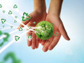 Recycle Earth Stock Photography - 27766982