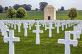 War Cemetery - La Somme - France Stock Photography - 27784422