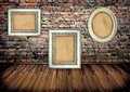 Frames On Brick Wall Stock Photos - 27785733