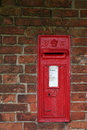 Victorian Wall Postbox Royalty Free Stock Photography - 2784327