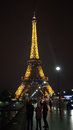 Eifel Tower At Night Stock Photo - 27809250