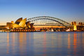 Sydney Opera House And Harbour Bridge Royalty Free Stock Images - 27811939