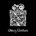 Gift Box With Scroll Ornament Stock Photo - 27817440