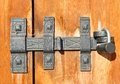 Old Door Latch Stock Image - 27819391