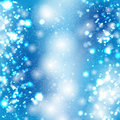 Blue Bokeh Vector Background Royalty Free Stock Images - 27820309