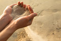 Sand And Fingers Royalty Free Stock Photos - 27823438