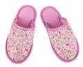 Pink Slippers Stock Images - 27825454