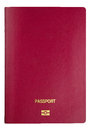 Template Passport Cover - Clipping Path Royalty Free Stock Image - 27827316