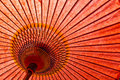 Japanese Style Red Umbrella Royalty Free Stock Photos - 27830998