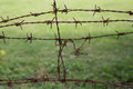 Barb Wire Fence Stock Photo - 27834120