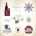 Label Set Royalty Free Stock Photography - 27836477