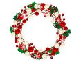 Christmas Wreath Stock Images - 27840854